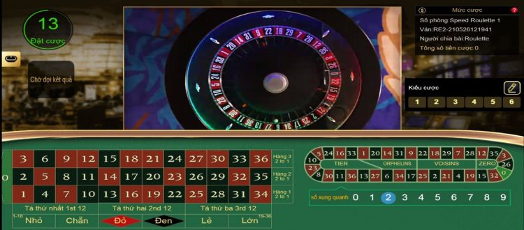 cach choi roulette